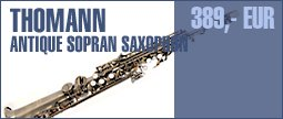 Thomann Antique Sopran Saxophon