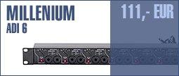 Millenium ADI 6 Aktiv 6-way DI Box