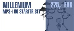 Millenium MPS-100 E-Drum Starter Set