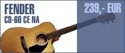 Fender CD-60 CE NA