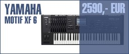 Yamaha Motif XF 6 Anniversary Bundle