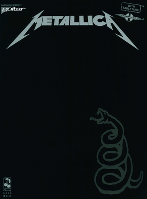Music Sales Metallica Black Album (Gtr)