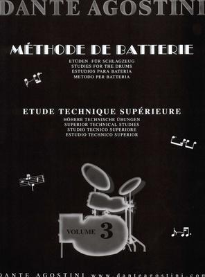 Dante Agostini Methode De Batterie Vol.3