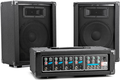 the t.amp PA 4080 Powermixer Package