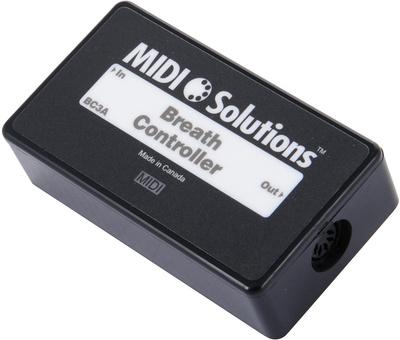 MIDI Solutions Breath Controller to Midi
