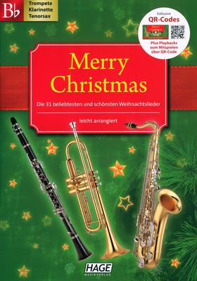 Hage Musikverlag Merry Christmas (Bb-Instr.)
