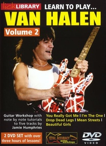 Music Sales Learn To Play Van Halen Vol 2