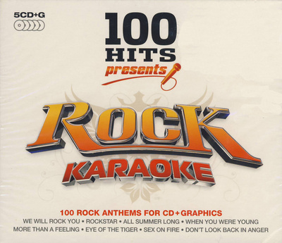 World of Karaoke 100 Hits Rock Karaoke