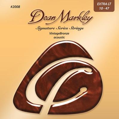 Dean Markley 2008 Extra LT Vintage Bronze