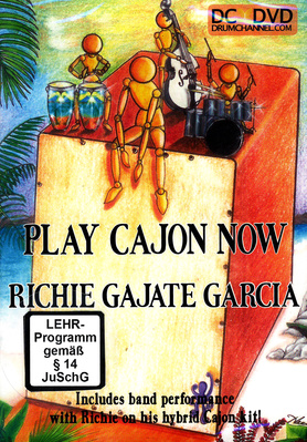 Alfred Music Publishing Play Cajon Now DVD