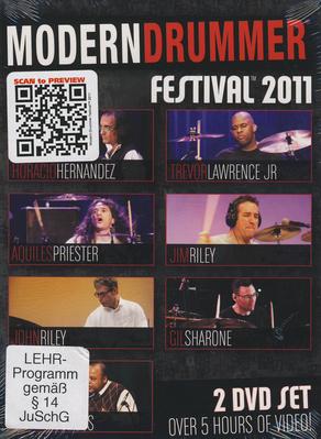 Hudson Music Modern Drummer Festival 2011