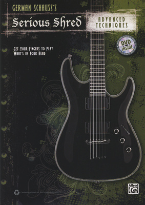 Alfred Music Publishing Serious Shred Advanced Techn.
