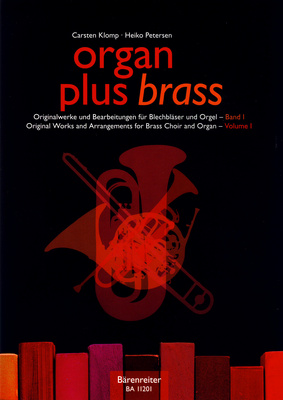 Bärenreiter Organ Plus Brass Vol.1