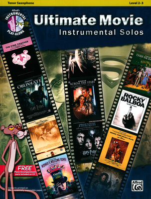 Alfred Music Publishing Ultimate Movie Play f.Tenorsax